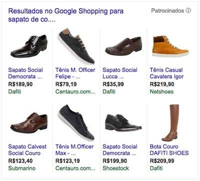 Google Adwords através do Google Shopping