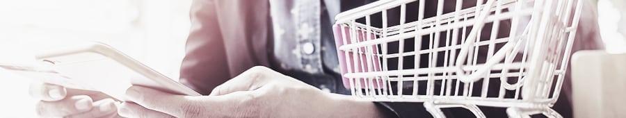 Realizar compras online mobile
